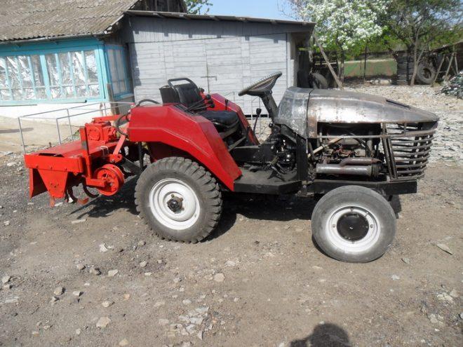 Самодельный мини трактор