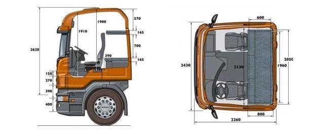 Седельный тягач Scania (Скания) R730