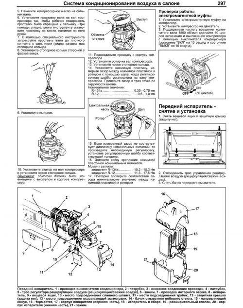 Система кондиционирования воздуха в салоне