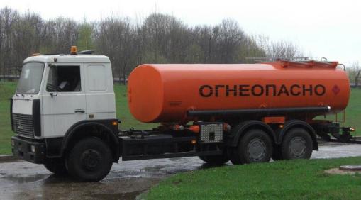 Цистерна на автомобиле МАЗ-6303