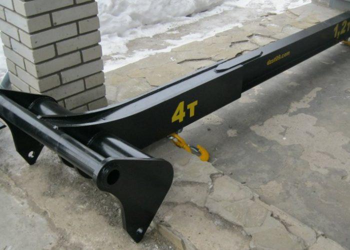 Телескопическая грузовая стрела