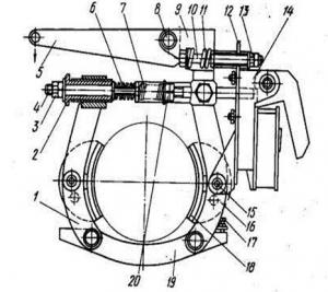 Тормоз механизма поворота крана КС – 4561