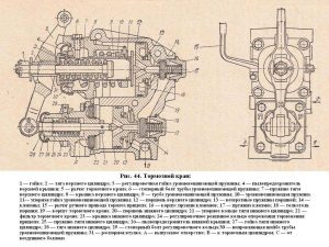 Тормозной кран КРАЗ-260