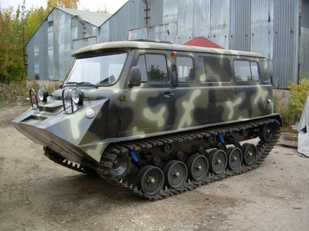 УАЗ-452 - военный тюнинг