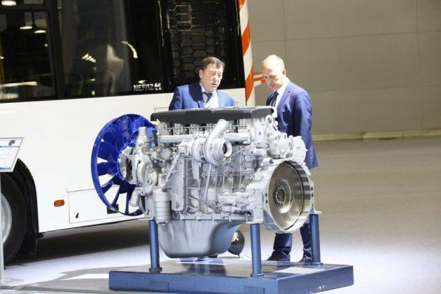 Выпуск двигателя Евро-5 на Российском заводе Liebherr