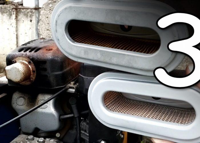 Замена масла в двигателе мотоблока (3)