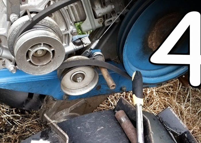 Замена масла в двигателе мотоблока (4)