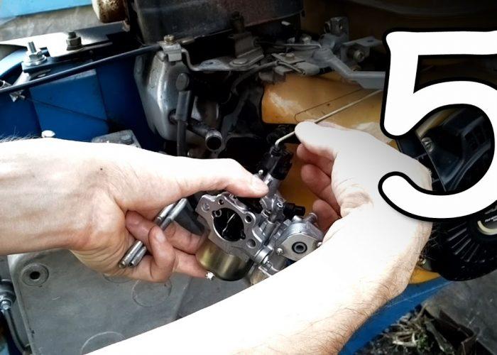 Замена масла в двигателе мотоблока (5)