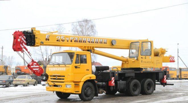 Автокран КС-55713