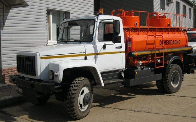 Ассенизатор ГАЗ 33086