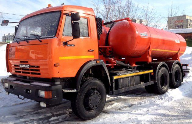 Ассенизатор КАМАЗ 65115