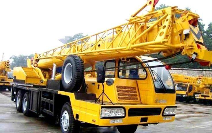 Автокран XCMG QY20B 25 тонн