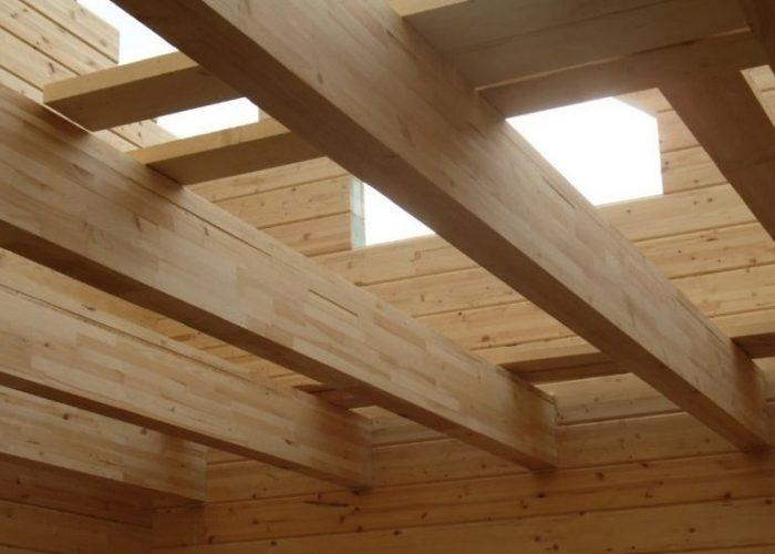 Балки из древесины