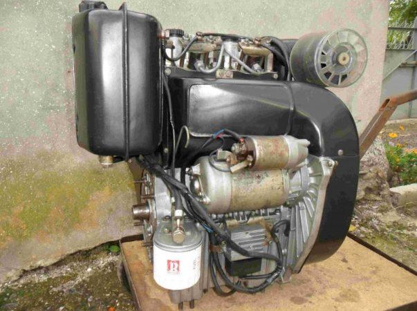 Дизельный двигатель для минитрактора
