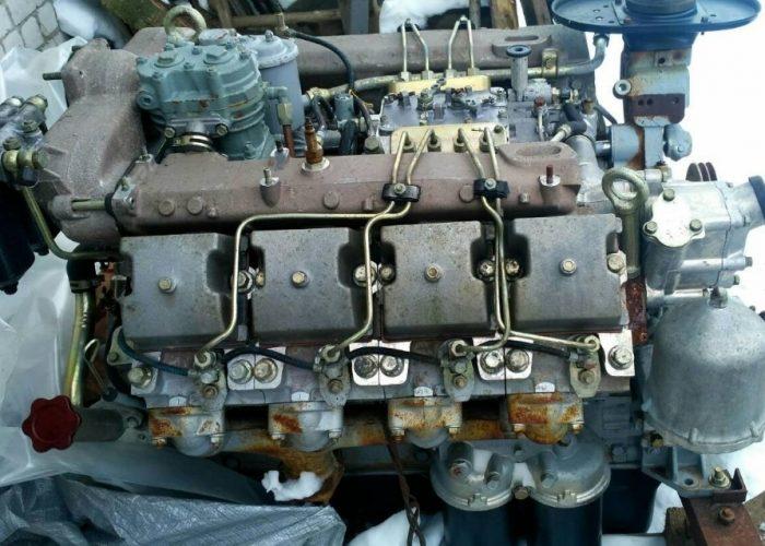 Двигатель Камаза 5320 вид спереди