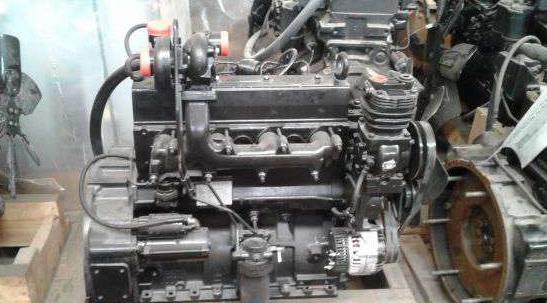 Двигатель Sisu 44DTA