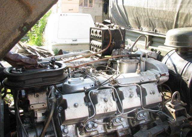 ДвигательУрала 4320 ЯМЗ-238 турбо