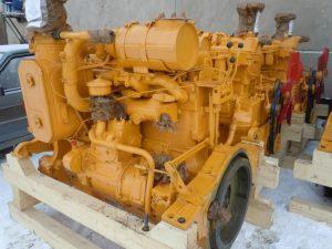 Двигатель бульдозера Б10М