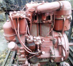 Двигатель трактора Т-16