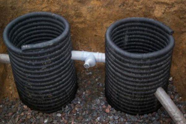 Фильтрационные канализационные колодцы
