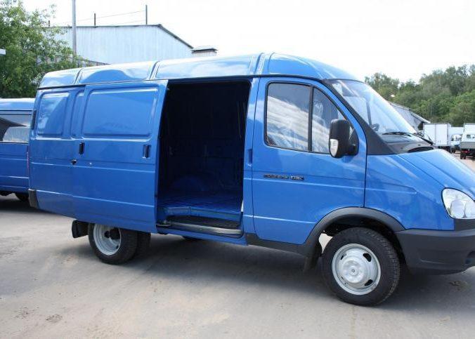 ГАЗ 2705 для бизнеса голубая