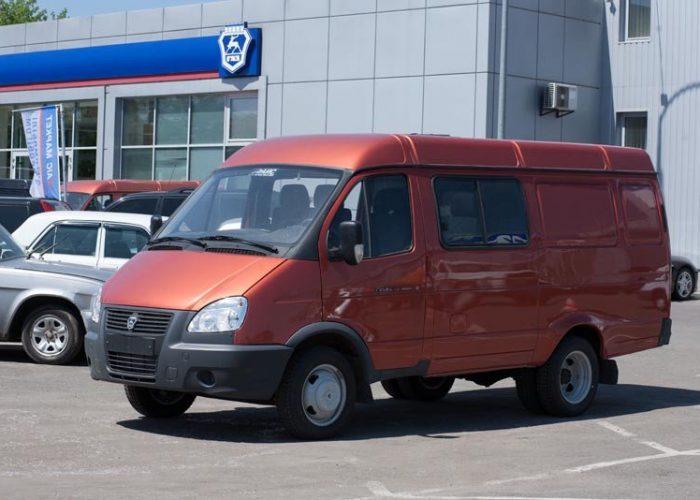 ГАЗ 2705 для бизнеса красная