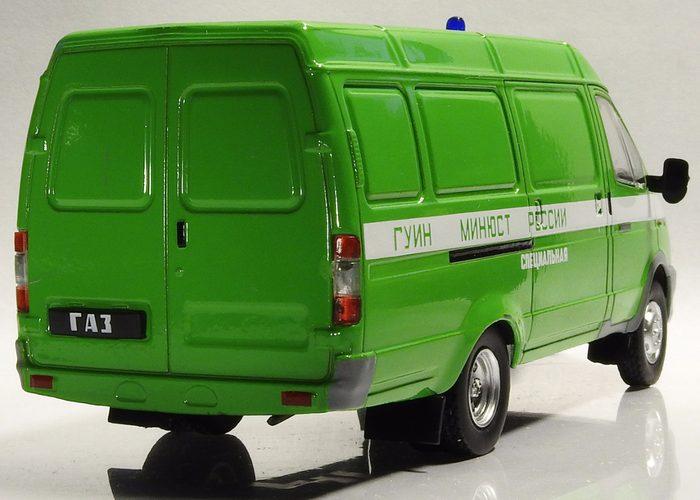 ГАЗ 2705 для бизнеса салатовая