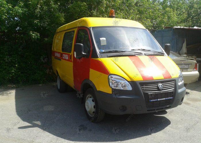 ГАЗ 2705 для бизнеса службы газа
