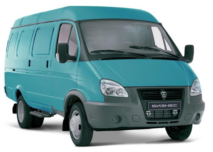 ГАЗ 2705 для бизнеса зеленая