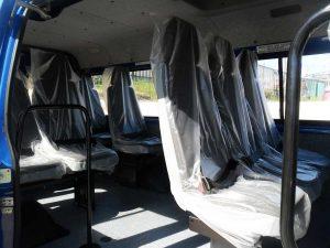 ГАЗ 322132 - пассажирские места