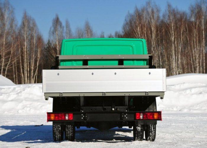 ГАЗель NEXT кузов вид сзади