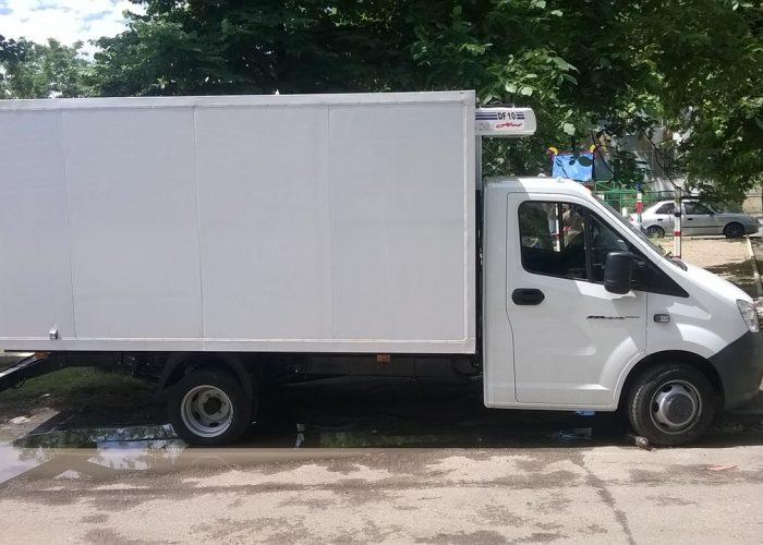 ГАЗель NEXT + рефрижератор (фургон 4 м.)