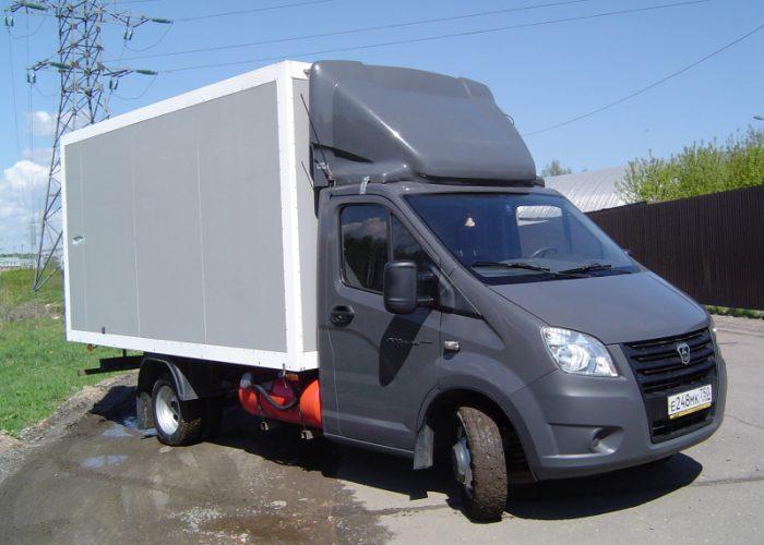ГАЗель Next с кузовом