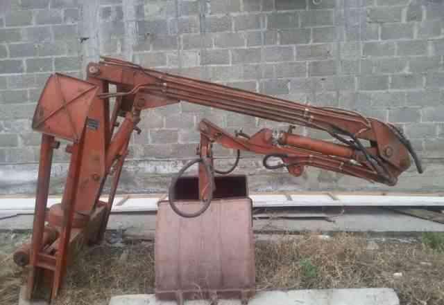 Грейферный погрузчик Т-16