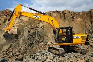 Гусеничный экскаватор JCB JS205
