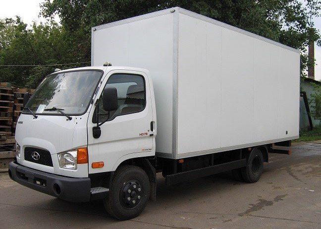 Hyundai HD78 - фургон промтоварный