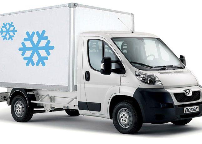 Изотермический фургон Пежо Боксер