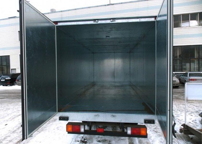 Изотермический фургон на базе шасси Hyundai HD78