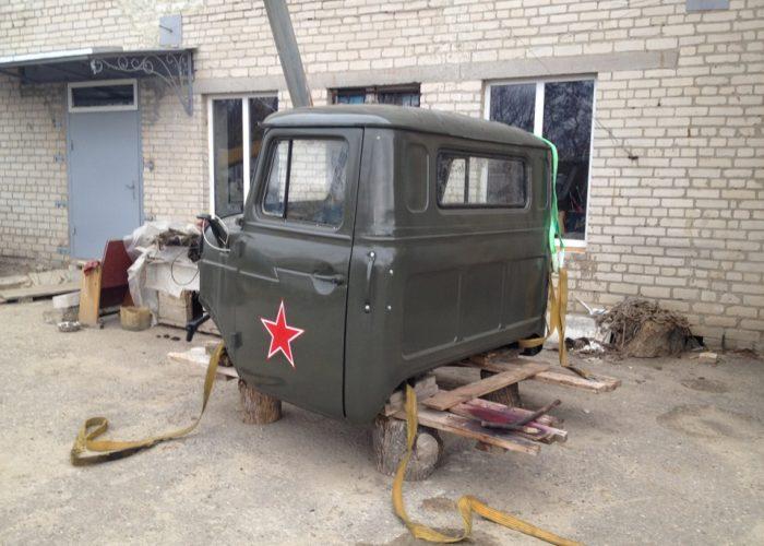 КабинаУрала 4320 советская