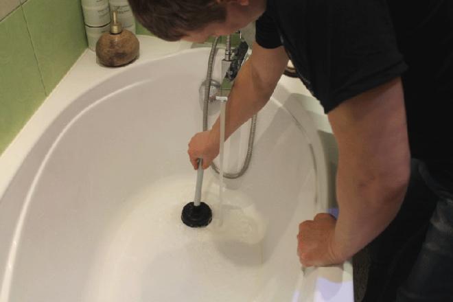 Как прочистить канализацию дома