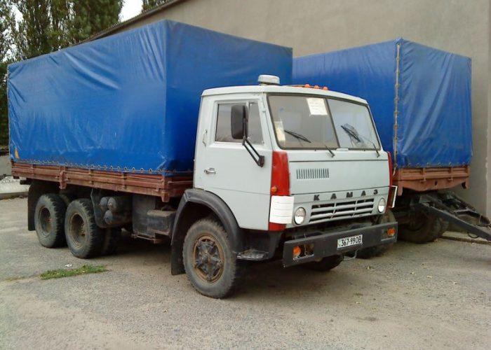 КамАЗ 5320 с тентовым кузоовом