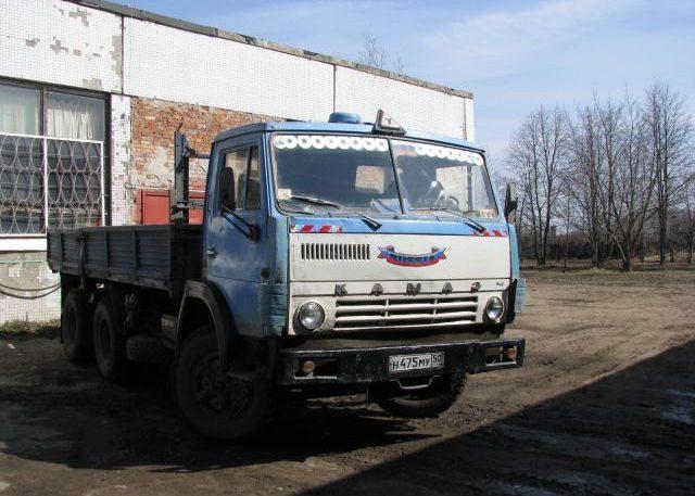 КамАЗ 5320 синий