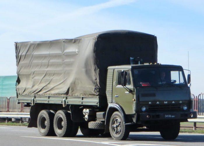 КамАЗ 5320 тентовый