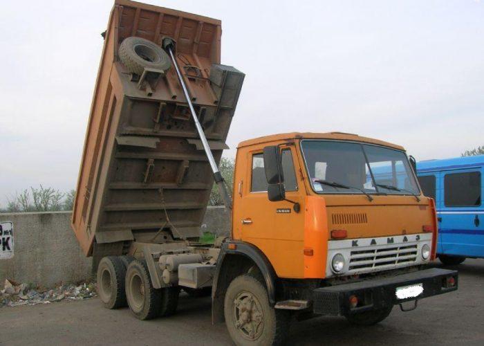 Камаз 5511 с полднятым кузовом