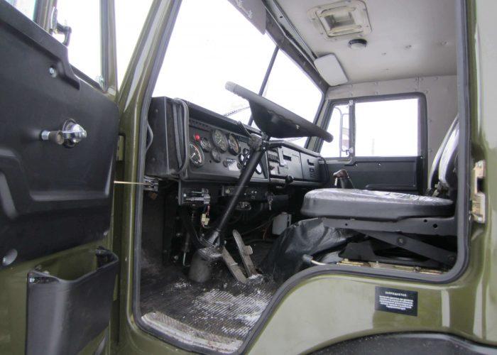 Камаз 5511 салон вид с водительского места