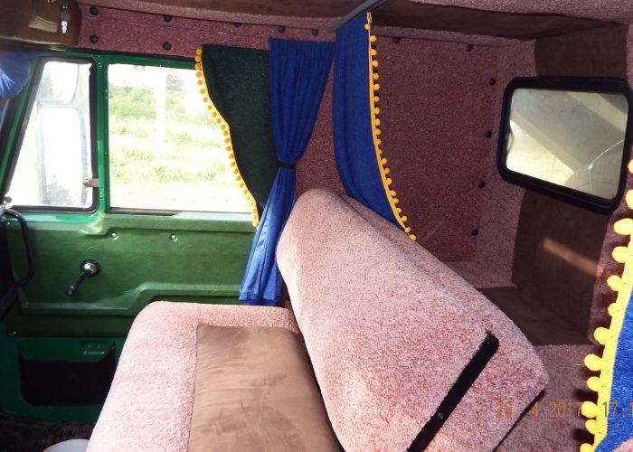Камаз 5511 со спальником внутри кабины