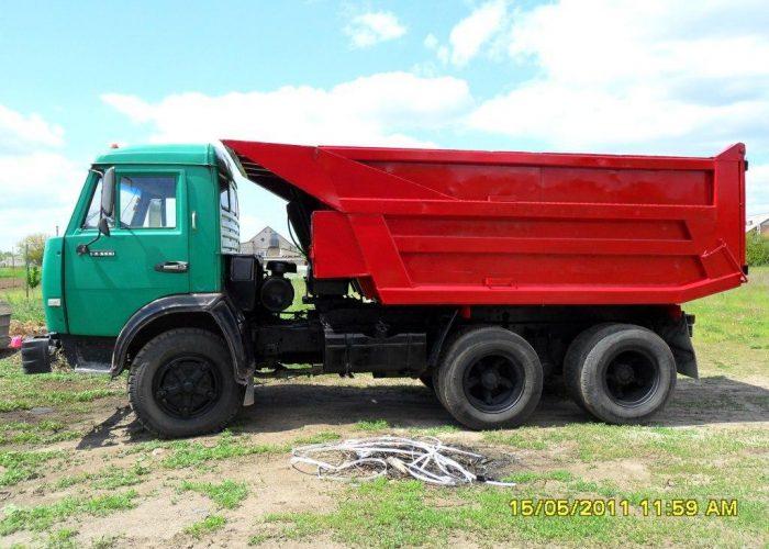 Камаз 5511 зерновоз зеленый