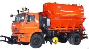 Комбинированная дорожная машина КО-829Д1 на базе КАМАЗ 53605