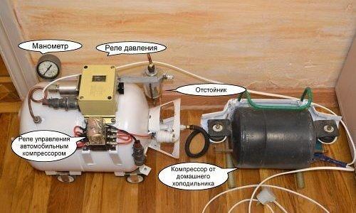 Конструкция самодельного компрессора для аэрографа