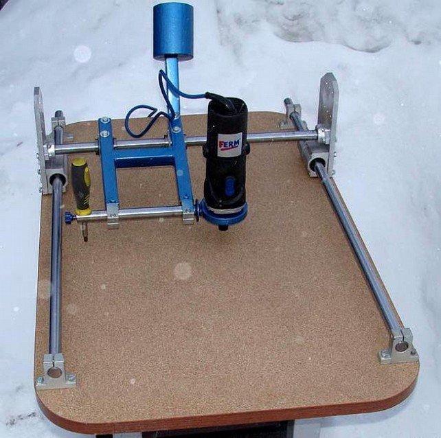 Копировально-фрезерный станок с плоскопараллельным механизмом